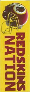 Redskins Nation bumper sticker!