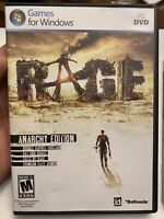 Rage Anarchy Edition PC DVD Games For Windows 7 / Vista / XP 3 Disc Complete