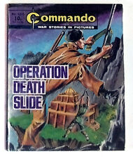 DC Thompson 1970's Early Commando Comic Book no.1315, War Military Army