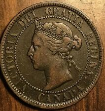 1901 CANADA LARGE CENT PENNY 1 CENT