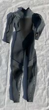 O'neill Psycho 2 4/3mm Women's Size 8 Gray Wetsuit (RIPPED COLLAR)