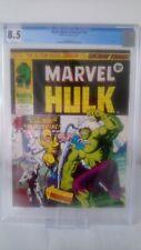 MIGHTY WORLD OF MARVEL # 198  CGC  8.5  HULK # 181  KEY 1ST UK WOLVERINE 1976
