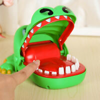 Big Crocodile Mouth Dentist Bite Finger Toy Family Game Kids Xmas Gift Dulcet