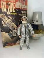 Vintage GI Joe Space Capsule and Astronaut, Original Box Hasbro 1966 Spaceman