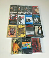 Bruce Springsteen Job Lot 15 Cassette Tapes ~ Born in USA, Live 1975-85 L@@K