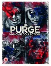 The Purge 4 Movie Collection DVD BOXSET