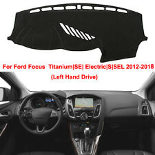 Dash Mat Dashboard Cover For Ford Focus Titanium|SE| Electric|S|SEL 2012-2018