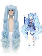 Vocaloid Snow Miku Hatsune Miku Cosplay Wig Halloween