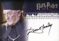 Harry Potter Order Phoenix Update Robert Hardy Autograph Card