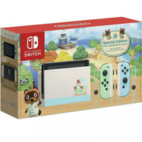NEW Animal Crossing: New Horizons Limited Edition Nintendo Switch Console