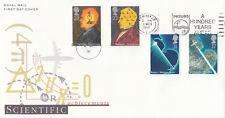 (04538) GB FDC Scientific Achievement Philips 100 Years Ahead slogan 5 Mar 1991