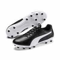 Puma Fußball Monarch FG Fußballschuhe Herren schwarz weiß