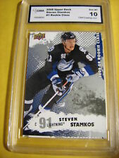 STEVEN STAMKOS 2008 UD ROOKIE CLASS RC # 1 GRADED 10 L@@@K