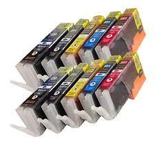 *10Pk New Canon  PGI-250XL CLI-251XL Compatible Ink  For Canon Pixma MX722 MX922