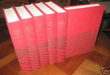 Histoire mondiale des SOCIALISMES. 6 Volumes . Reliure