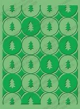 CUTTLEBUG embossing folder - WINTER TREES REDUCED