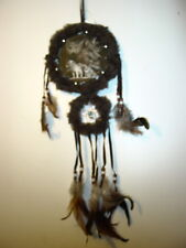 DREAMCATCHER WITH A PICTURE OF WOLVES WOLF (G)