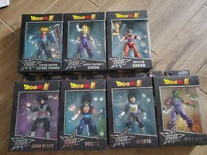 Dragon Stars Series Figure lot of 7 (No BAF)