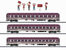 Märklin 43947 Personenwagenset Fanzug Abteilwagen Euro-Express 3x H0