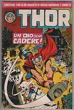 THOR II 2a seconda serie corno n.35 UN DIO DEVE CADERE ! 1983 poster VENDICATORI