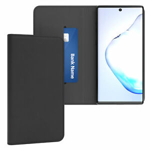 Case for Samsung Galaxy Note 10 cover Wallet Book Flip Case Vintage Black