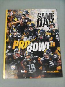 Pgh Steelers, 2017 Season, AFC Playoff Game Program, Jacksonville Jaguars