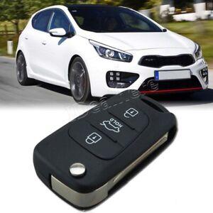 Car 3 Button Flip Remote Key Fob   Fits KIA Rondo Sportage Soul Rio