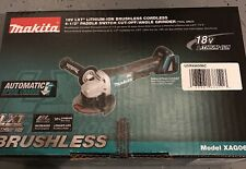 "New Makita XAG06Z 18V 4-1/2"" LXT Brushless Cordless Cut-Off/Angle Grinder Tool"