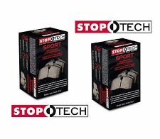 StopTech Sport Brake Pads Front & Rear Set Kit fits Subaru WRX STi Lancer EVO