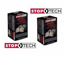 StopTech Sport Brake Pads Front & Rear Set Kit for Subaru WRX STi Lancer EVO
