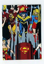 Skybox 1992 Doomsday The Death of Superman Funeral for a Friend Puzzle Card C5