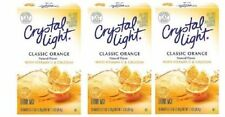 Crystal Light On The Go Sunrise Classic Orange Sugar Free Soft Drink Mix 3 Pack