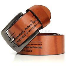 Men's Casual Vintage Waistband Luxury Leather Prong Belts Belt Waist Strap Belts