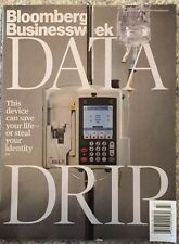 Bloomberg Business Week Data Drip Save Your Life Nov 2015 FREE SHIPPING!