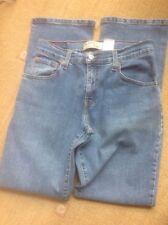 👖 Levi Strauss 550 Boot Cut 4 M W30 L32 in buonissima condizione Blu Denim Jeans 👖 Chiusura Zip -