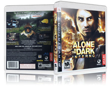 Alone in the Dark: Inferno - Replacement  PS3 Cover and Case. NO GAME!!