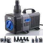 Pompa a filtro fino 3000l/h Risparmio energetico Eco- stagno Laghetto con koi