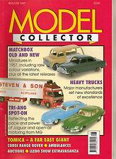 MODEL COLLECTOR Magazine Aug 1997 EFE Corgi Matchbox Rio Veterans Tomica Lledo