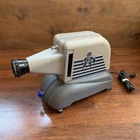 1960's Vintage BRUMBERGER Slide Projector Model 1422 - WORKS & Clean Shape
