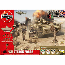 Airfix British Army Attack Force Gift Set 1:48 Model Kit A50161