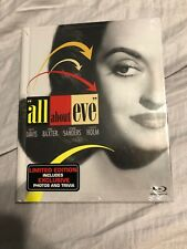 All About Eve (Blu-ray Digibook Limited Edition) Bette Davis Anne Baxter New!