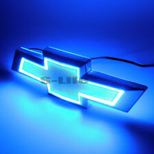 Blue 5D LED Car Car Tail Logo Light Badge Lamp Emblem For CHEVROLET CRUZE EPICA