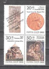 RUSIA (URSS) nº 5573/5575** Ayuda a las victimas de Armenia. Serie Completa