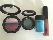 Mac Make Up - Selling as a pack - 2 x Eye Shadow + 1 x Pigment + 1 x Lip Glass