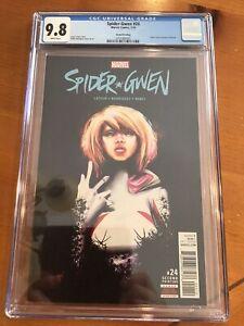 Spider-Gwen #24 Gwenom 1st Appearance 2nd print Variant 2018 CGC 9.8 NM/MT