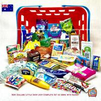 Coles Little Shop 2 Fan Must-have - Little Shop NZ 2014 Complete Set with Basket