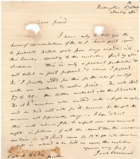 Handwritten Document Signed by Jacob Crowinshield w/COA