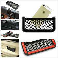 Auto Convenient Storage Mini Resilient Net Holder Tool In 3M Glue For GPS Phone