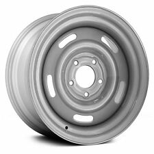 "15X8"" Silver Rally Steel Wheel Rim,For 1969-1982 Chevrolet Corvette Brand New"