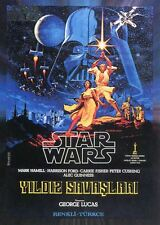 Star Wars 40th Anniversary Base Card #149 Turkish Star Wars Theatrical Poster